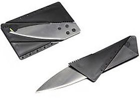 Folding Credit Card Knives For Wallet Safety Blade Knife self defense outdoor