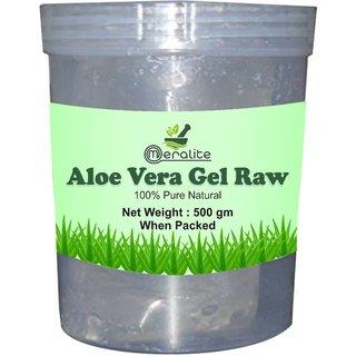 Meralite Aloe Vera Gel Raw (500 Gram) (ML-ALOE VERA RAW-500 GM)