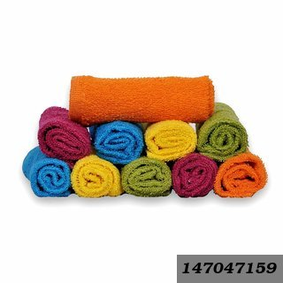 Love Touch Cotton Face Towel - Multi(Pack Of 6)