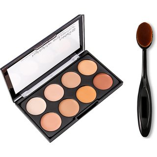 mars contouring and highlighting with oval brush