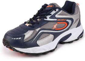 Sparx Men Navy Blue Orange Running Shoes