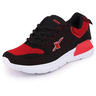 Sparx Womens Black Red Running Shoes