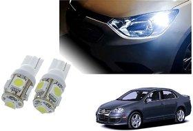 Auto Addict Car T10 5 SMD Headlight LED Bulb for Headlights,Parking Light,Number Plate Light,Indicator Light For Volkswagen Jetta