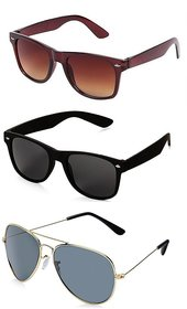 Pack Of 3 Sunglasses