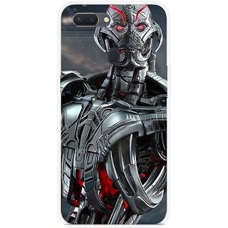 SmartNxt Designer Printed Case for Realme 2 Pro | Grey | Movies & TV Series | Avengers - Age of Ultron