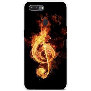SmartNxt Designer Printed Case for Realme 2 Pro | Black | Music & Entertainment | Music Note