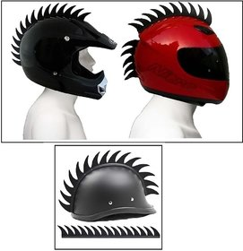Delhi Traderss Cuttable Helmet Mohawk Helmet Spikes Bike Helmet Spikes For-Yamaha Rx 100