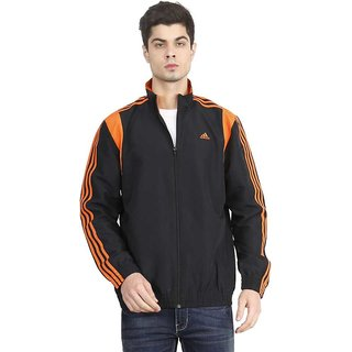 ADIDAS Full Sleeve Striped Men Jacket