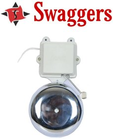 Swaggers 6 inch electronic gong bell for schools, colleges, factories etc.....