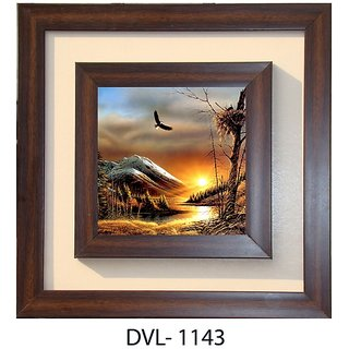 Lila Paintings Nature Canvas Painting ( wood Material , 30 cm x 30 cm)
