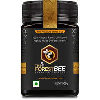The Forest Bee Small Bee Raw Honey 500g (100 Natural Raw  Unfiltered Honey Made By Small Bee's)