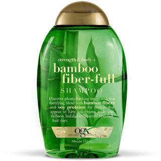 OGX Strength  Body Bamboo Fibre Full Shampoo 385 Ml
