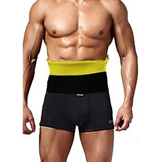 Men's Black Slim Hot Shaper Belt Waist Shaper Tummy Tucker Gym Wear