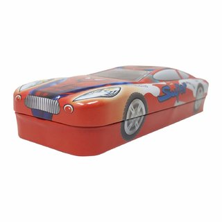Buy Caviors Multicolour Cartoon Printed Car Shape Matal Pencil Box