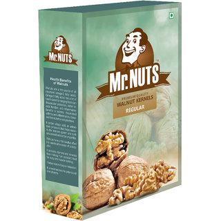 MR NUTS REGULAR PREMIUM WALNUT KERNELS (Akhrot) Pack of 1 (250 GMS)