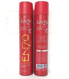 Enzo Holding Hair, Straightening Hair Spray Pack Of 2 420 ml