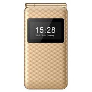 blackbear i7 Trio Plus Triple Sim Flip Mobile Phone 1.8 Color Display with 1.8 MP Camera 1550mAh Battery