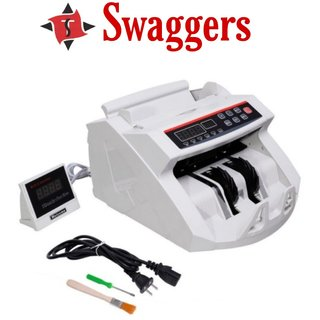 Swaggers double mg note counting machine with fake note detection