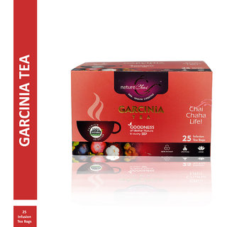 Nature Chai Garcinia Green Tea - 25 Tea Bags (Pack of 1)