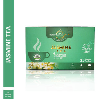 Nature Chai Jasmine Green Tea - 25 Tea Bags (Pack of 1)