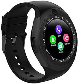 TOQON Y1 Touch Screen Bluetooth Watch with SIM Card  Memory Slot Smartwatch