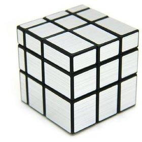 6th Dimensions 3x3 Silver Mirror Cube