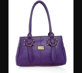 Lady queen purple casual bag