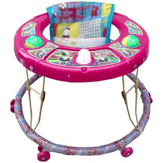 Oh Baby Baby Musical Walker pink Color For Your Kids SE-W-02