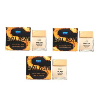 VI-John Splash After Shave Lotion Limited Edition (50ml each Pack Of 3 )