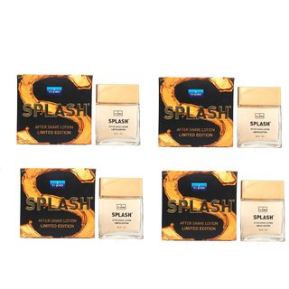 VI-John Splash After Shave Lotion Classic (50ml each Pack of 4)