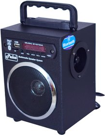 PALCO M500 Multimedia Speaker Rechargeable Bluetooth,FM,USB,AUX with Remote (Black)