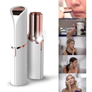 FLAWLESS HOT Finishing Touch Women's Painless Hair Remover for Mouth Chin Cheeks Cordless Trimmer for Women