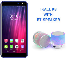 I KALL K8 Infinity Screen 5.5 inch Dual Sim 4G  Mobile Phone with Bluetooth Speaker