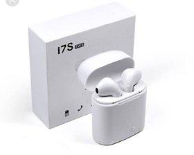 Karnavati 7S TWS Twins Wireless Bluetooth In Ear Earphone With Mic Portable Charging