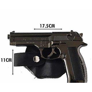 JGG Metal Gun Revolver Shaped Car Cigarette Lighter With Loading System