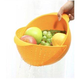 1 PC Premium Rice Washing Bowl  Vegetable washing bowl  Fruits washing bowl  Noodles Pasta Pulses washing Bowl