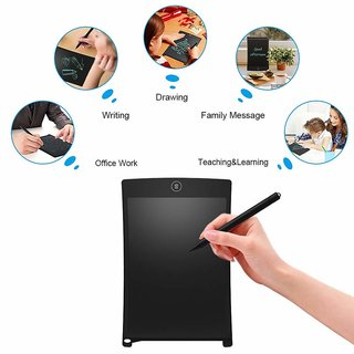 8. 5 inch Blue LCD E-Notepad Writing Pad/Tablet Drawing Memo Board Paperless Digital Tab (Colors May Vary)