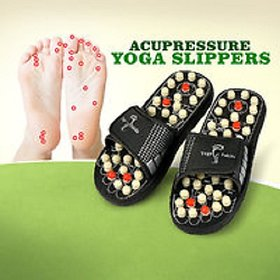 Paduka Acupressure Magnetic Therapy  Full Body Massage Slippers