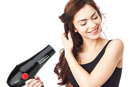 Imported Chaoba 2800 Hair dryer unisex powerful motor dryer 3 heat setting 2 speed setting long time use