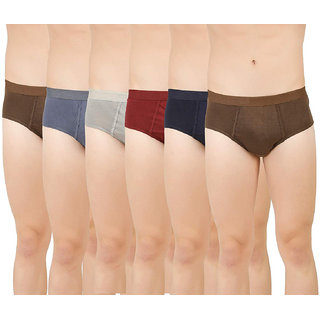 6 Superone Mens  Frenchies Assorted Color