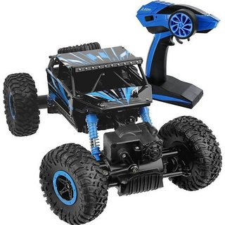 Off-road RC cars 118 Scale Monster Car 2.4Ghz 4WD High Speed Racing Cars, Rock Crawler Truck (Multicolor)