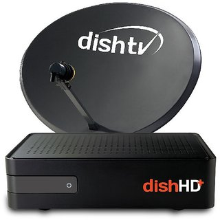 Dish TV HD Connection With 6 Month Super family HD + star bhart HD + ICS Bangla HD Pack