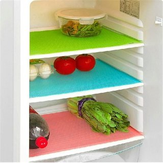 G-Trading Hub Refrigerator Drawer Mat/Fridge Mat/Multipurpose Mat Set of 6Pcs (12 X 17 Inches)