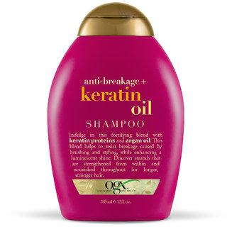OGX Anti Breakage Keratin Oil Shampoo 385 Ml