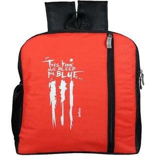 LEEROOY CANVAS 22LTR SCHOOL BAG COLLAGE BAG LAPTOP BAG OFFICE BAG TREVAL BAG BACKPACK FOR GRIL'S
