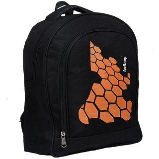 LEEROOY CANVAS 23LTR COLLAGE BAG OFFICE BAG TREVAL BAG LAPTOP BAG SCHOOL BAG BACKPACK FOR BOY'S