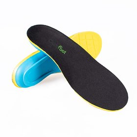 CuraFoot Athletic Shoe Insert Insoles Foot Arch Support Orthothic Sole Support Inserts Pad with Memory Foam for Plantar
