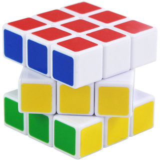 Dealbindaas Cube Speed Puzzle Printed 3x3x3 Smooth High Speed
