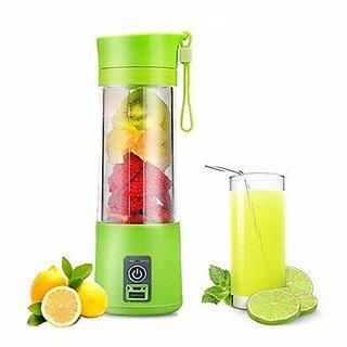 Rechargeable USB Mini Juicer Bottle Blender for Making Juice Shake Smoothies (Multicolour) 220 Juicer Mixer Grinder