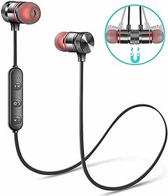 Admin MAGNETIC BLUETOOTH In the Ear Wireless Earphones Headphone With Mic
